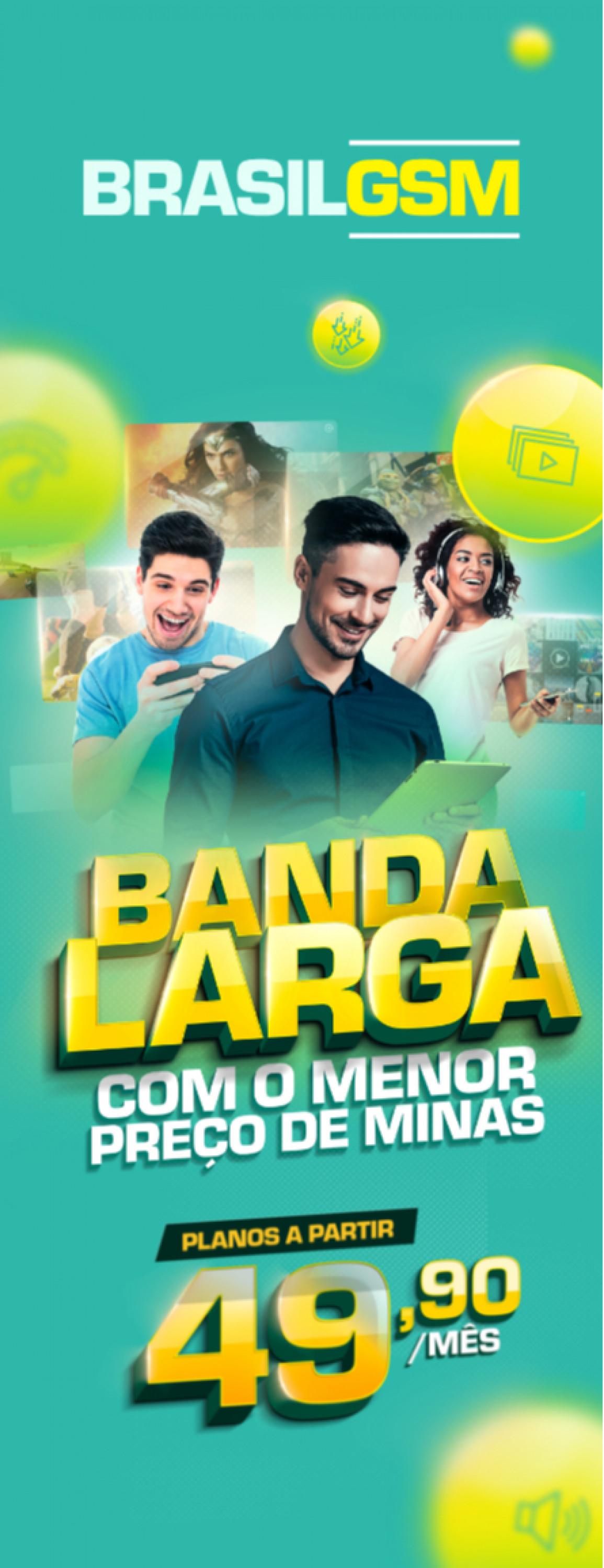 Campanha de vendas e Landing Page Brasil GSM