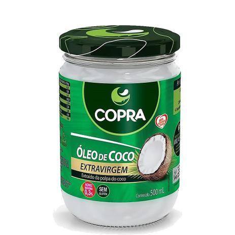 OLEO DE COCO 500ML EXTRA VIRGEM COPRA