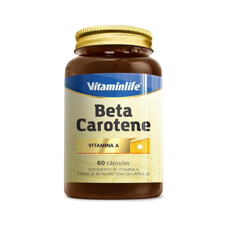 CAPSULAS BETA CAROTENE 60X300mg (VitaminLife)