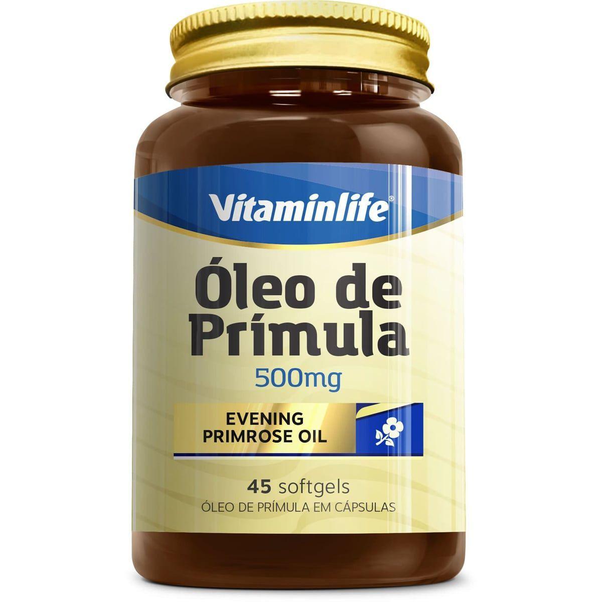 CAPSULAS OLEO DE PRIMULA 45CAPS (VitaminLife)