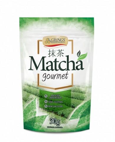 MATCHA GOURMET 30g (cha verde soluvel) GRINGS