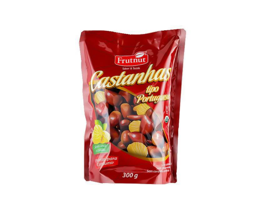 CASTANHA PORTUGUESA COZIDA COM CASCA A VACUO 250g