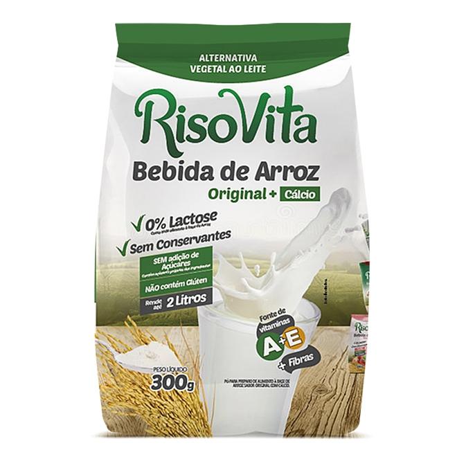 BEBIDA DE ARROZ EM PÓ SACHE 300g (Risovita)