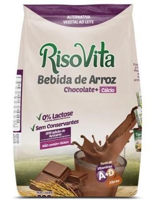BEBIDA DE ARROZ EM PO CHOCOLATE 300g SACHE (Risovita)