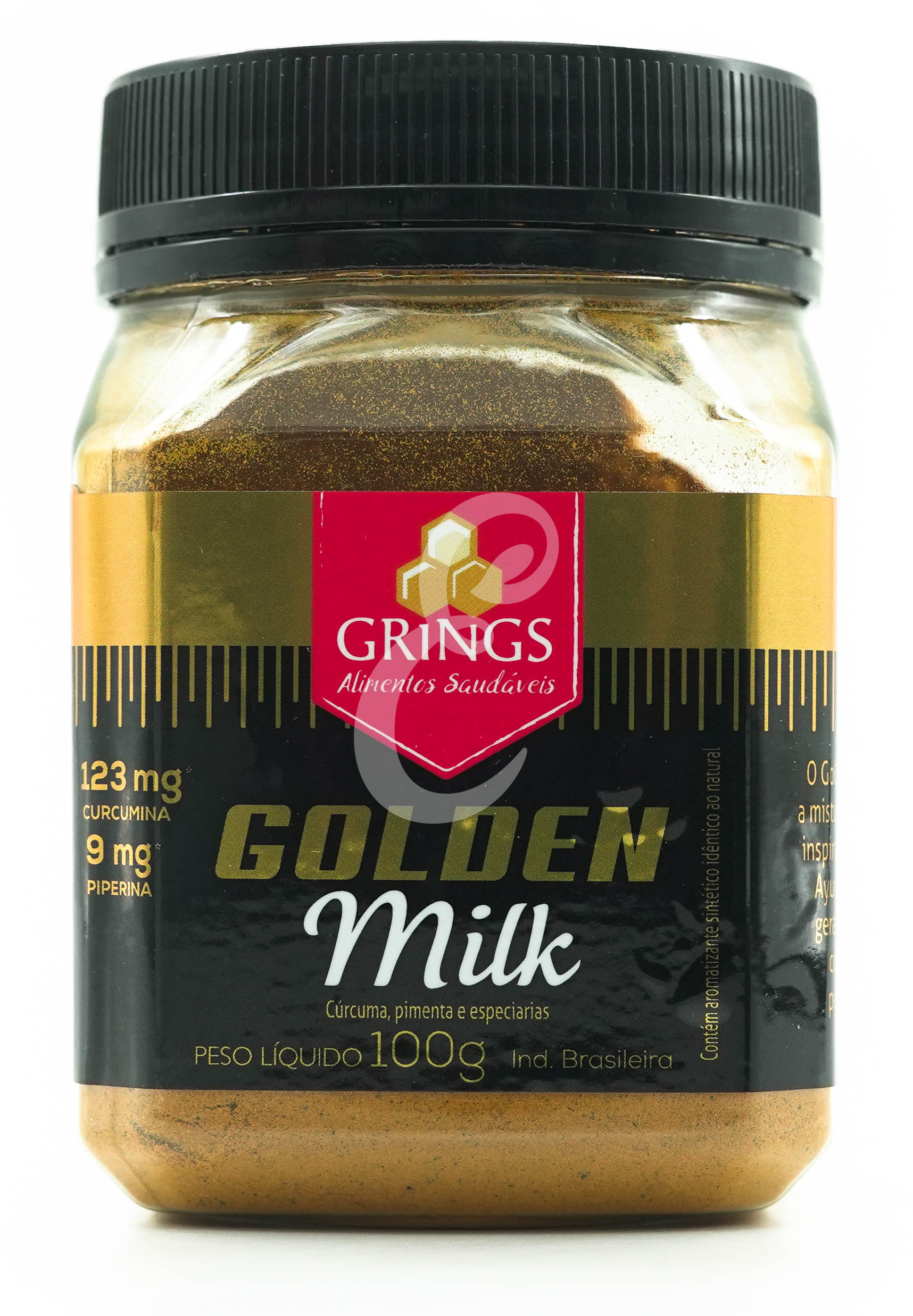 GOLDEN MILK THERMO (TUMERIC) 100G GRINGS