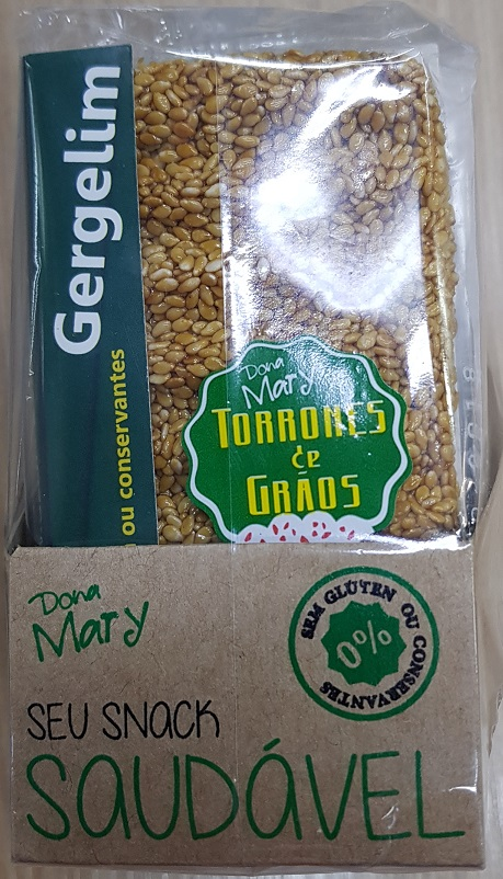 TORRONE GERGELIM, GIRASSOL, CHIA & LINHAÇA - DISPLAY12unid (3cada sabor)