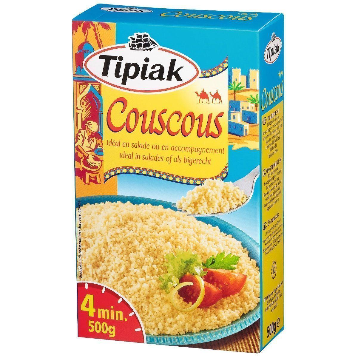 COUSCOUS TIPIAK 500g