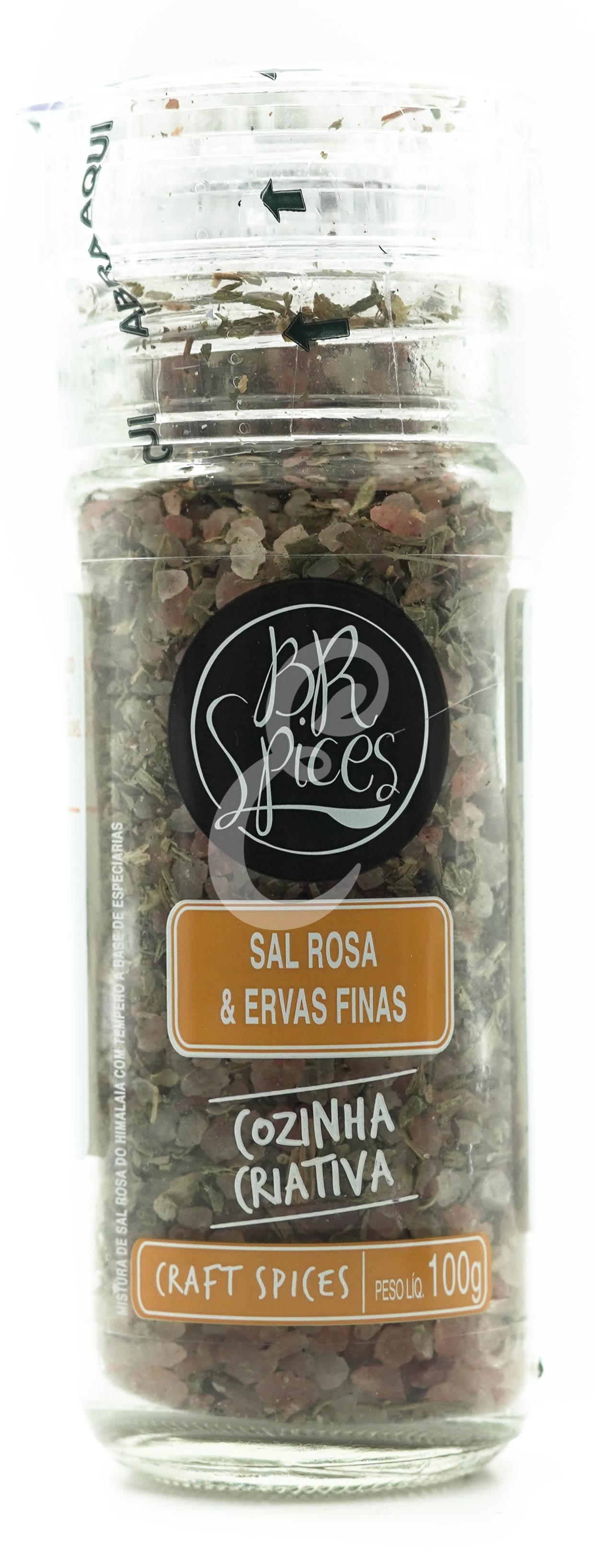 MOEDOR SAL ROSA & ERVAS FINAS 100g (Brspices)