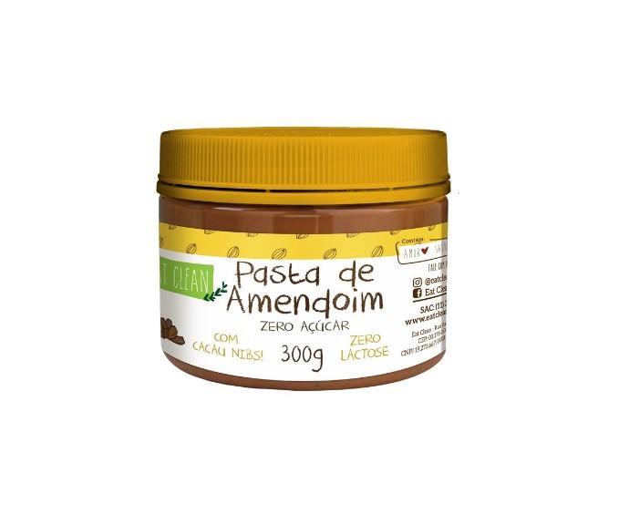 PASTA DE AMENDOIM C/ CACAU NIBS 300g(eat clean)