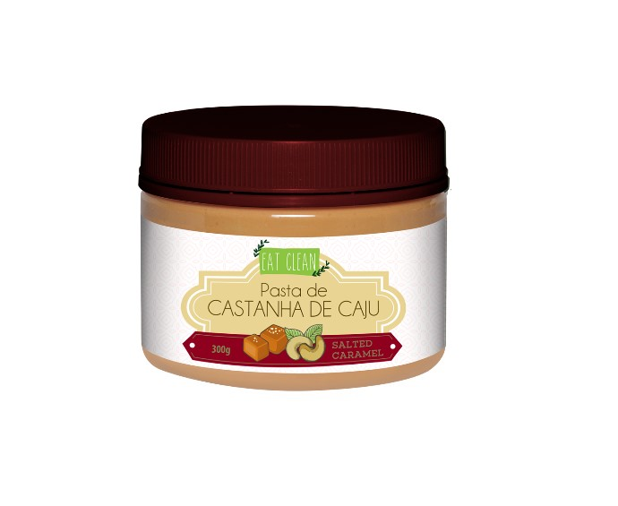 PASTA DE CASTANHA CAJU SALTED CARAMEL 300g(eat clean)