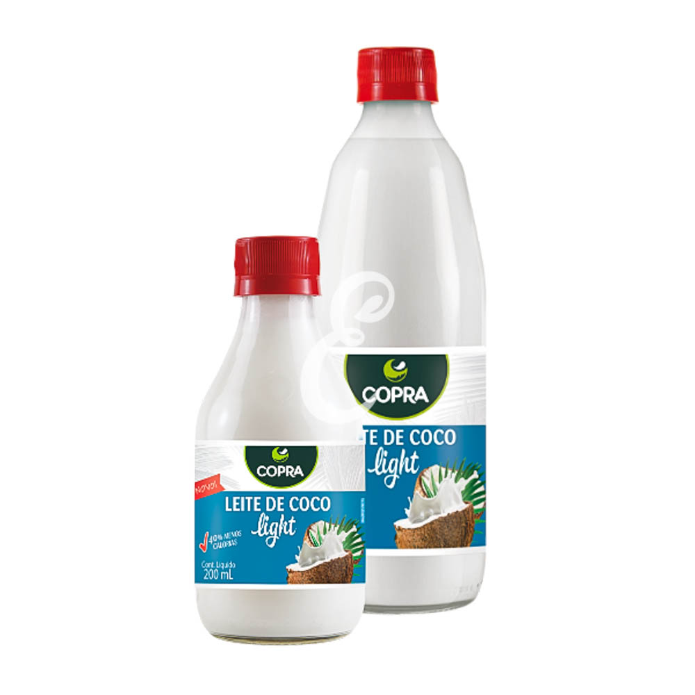 LEITE DE COCO COPRA LIGHT 24X200ML