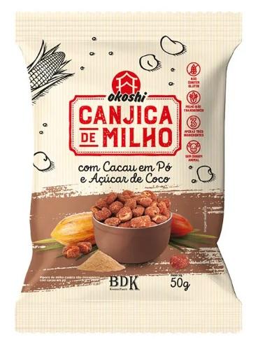 PIPOCA CANJICA C/ ACUCAR DE COCO 50g