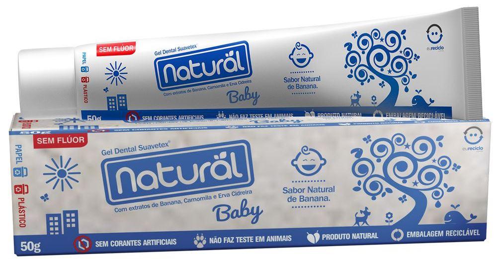ORGANICONATURAL GEL DENTAL NATURAL BABY 50G