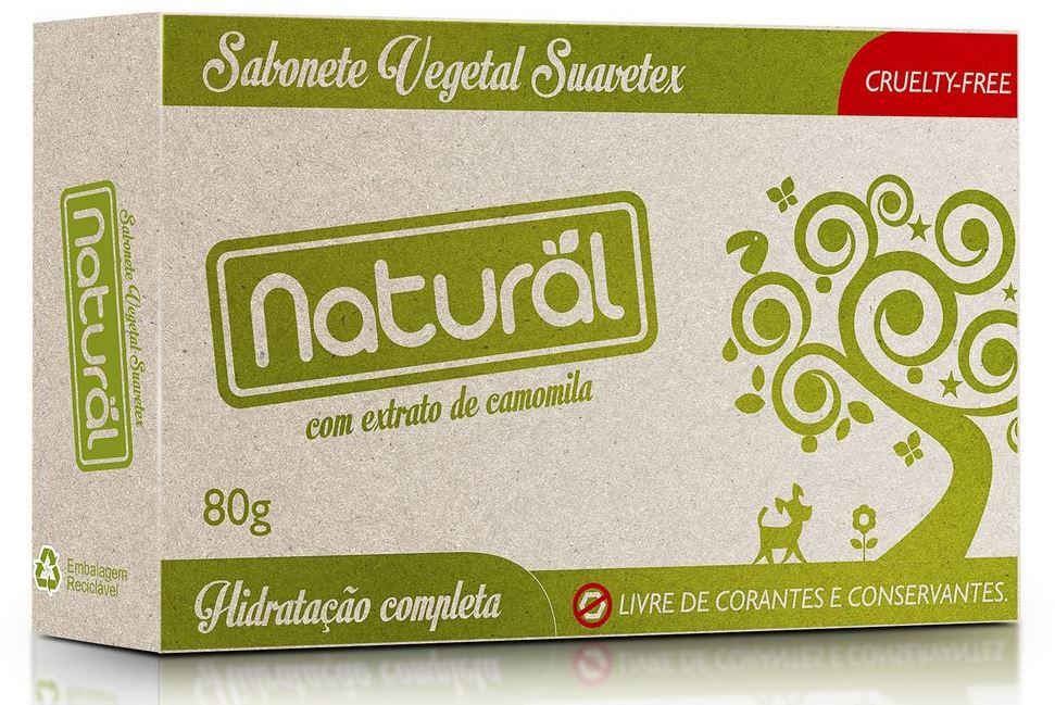 ORGANICONATURAL SABONETE NATURAL CAMOMILA COM EXT. ORGANICOS 80G