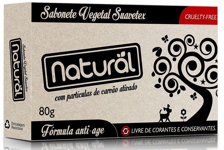 ORGANICONATURAL SABONETE NATURAL CARVAO ATIVADO 80G