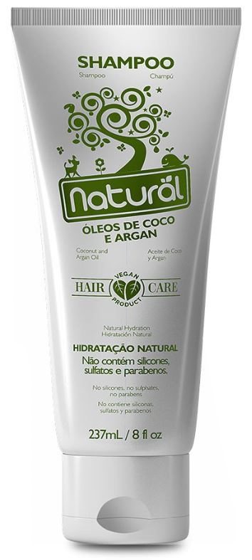 ORGANICONATURAL SHAMPOO NATURAL COCO E ARGAN 237ML