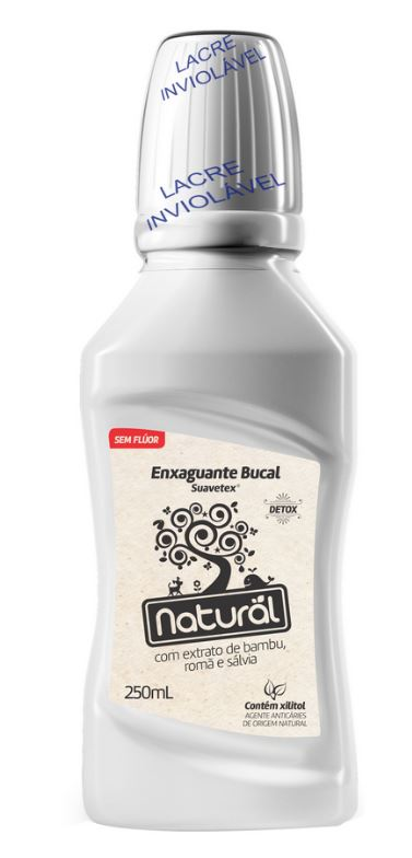 ORGANICONATURAL ENXAGUANTE BUCAL EXTRATOS BAMBU. ROMA E SALVIA 250ML