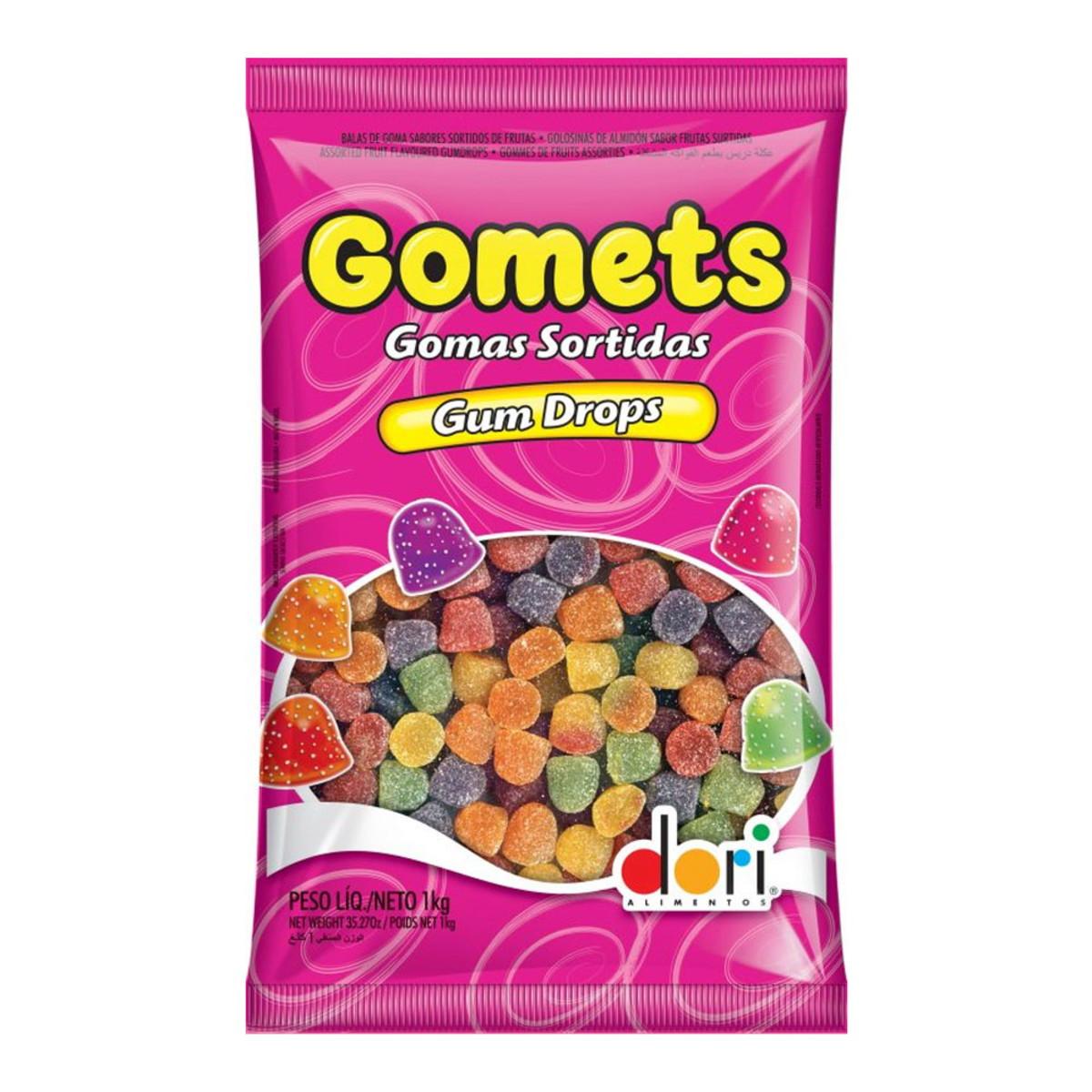 BALAS GOMA GOMETS 1Kg