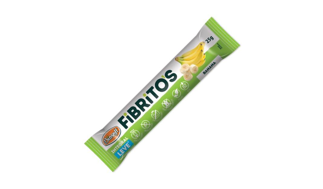 BARRA FIBRITOS BANANA LEVE 25g (biosoft)