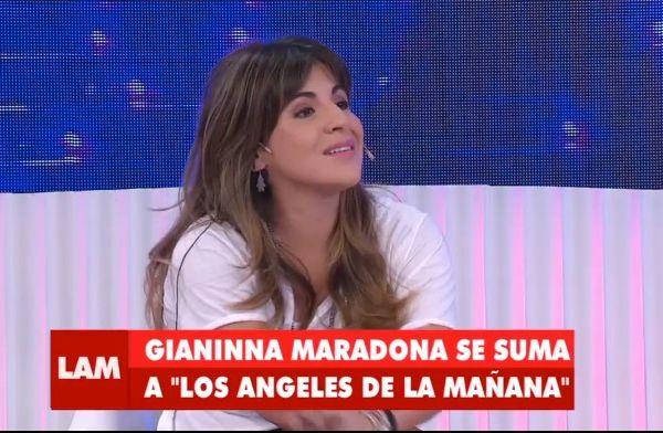 Gianinna Maradona debutó como panelista en
