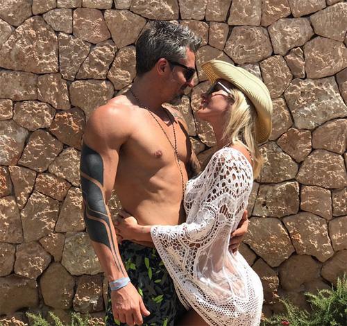 Nicolás Paladini y Rocío Guirao Díaz. Foto: Instagram.