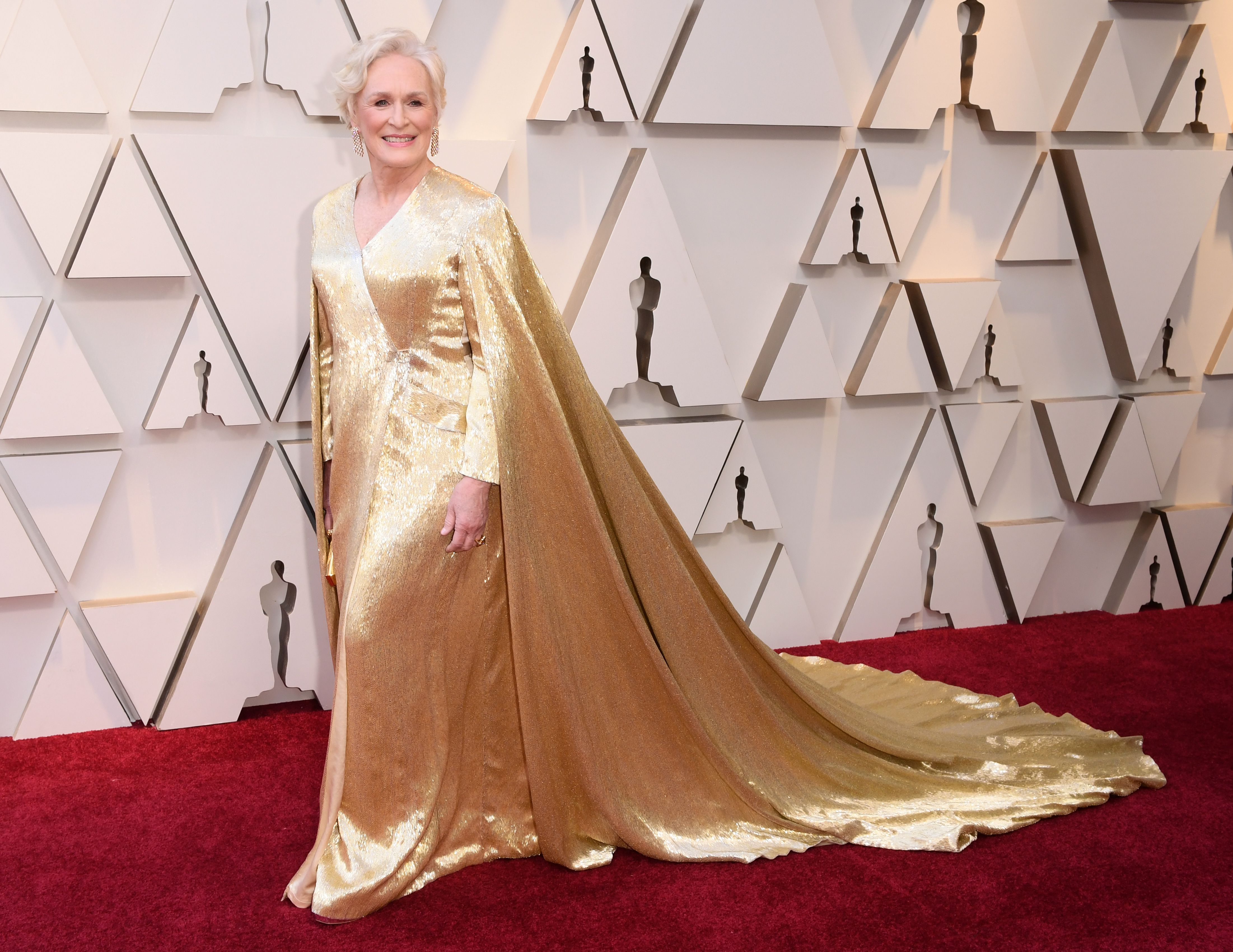 Mandatory Credit: Photo by David Fisher/REX/Shutterstock (10112734ff) Glenn Close 91st Annual Academy Awards, Arrivals, Los Angeles, USA - 24 Feb 2019