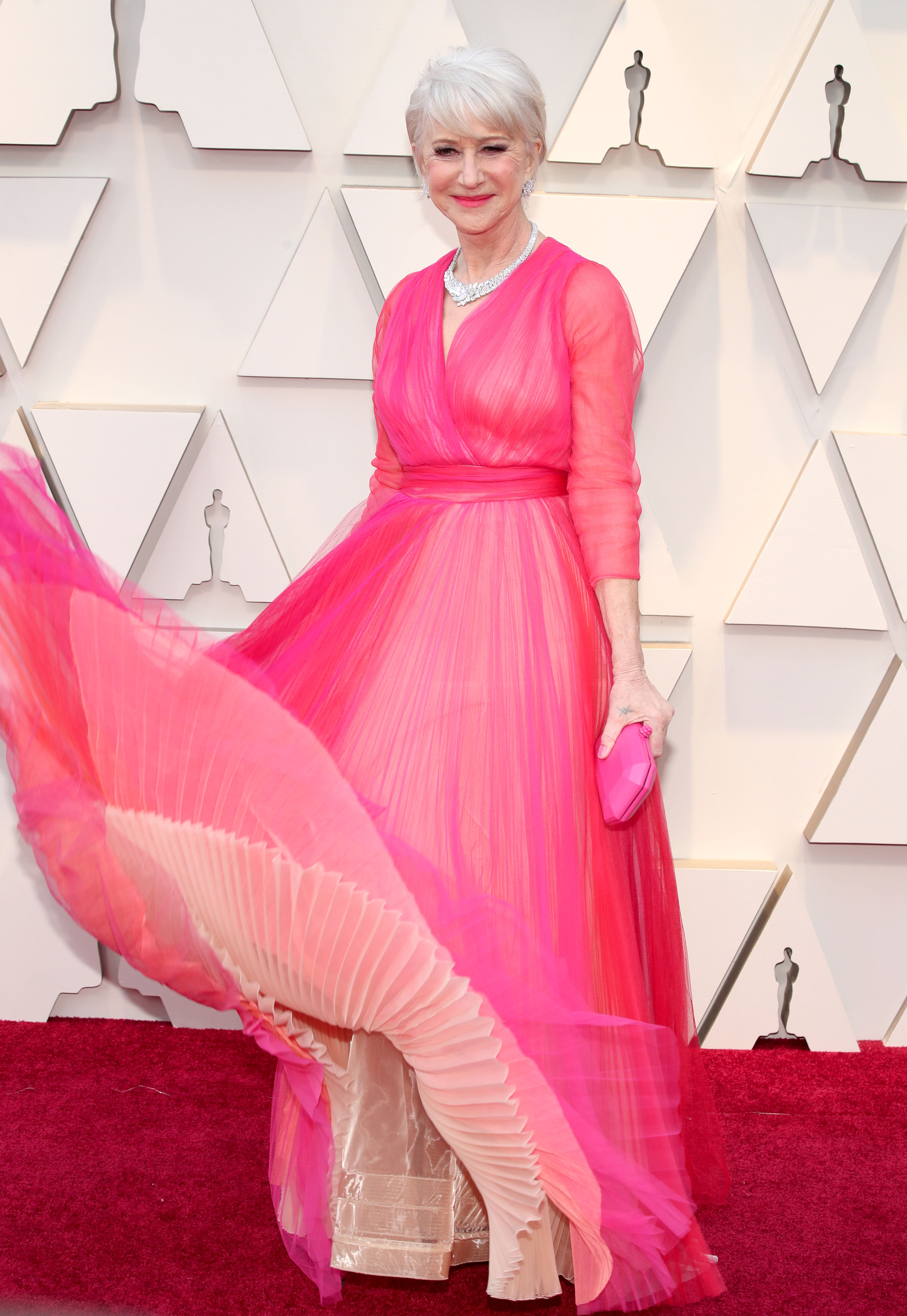 Mandatory Credit: Photo by Christopher Polk/REX/Shutterstock (10113255gv) Helen Mirren 91st Annual Academy Awards, Arrivals, Los Angeles, USA - 24 Feb 2019
