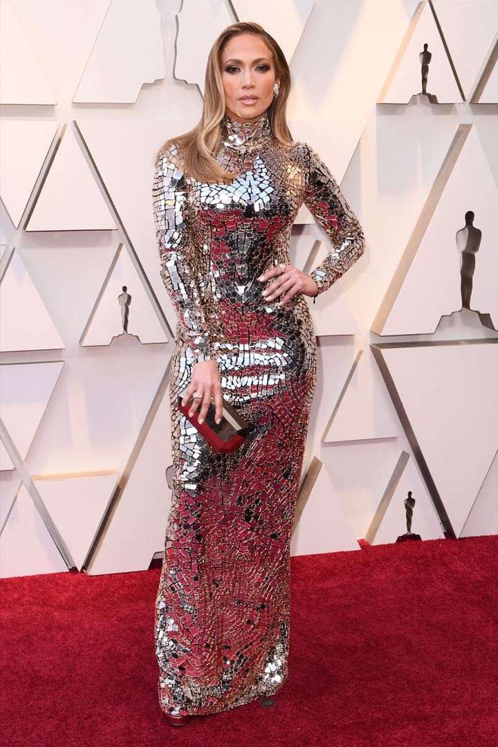 Mandatory Credit: Photo by David Fisher/REX/Shutterstock (10112734hb) Jennifer Lopez 91st Annual Academy Awards, Arrivals, Los Angeles, USA - 24 Feb 2019