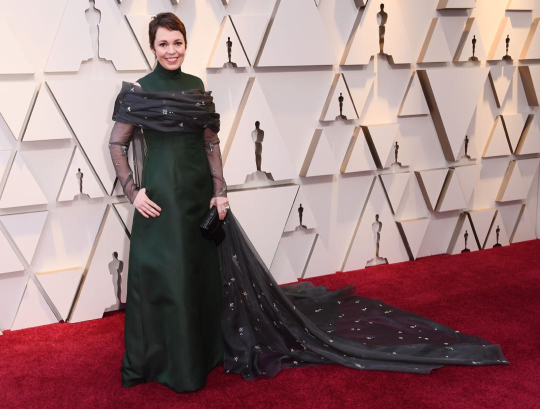 Mandatory Credit: Photo by David Fisher/REX/Shutterstock (10112734hy) Olivia Colman 91st Annual Academy Awards, Arrivals, Los Angeles, USA - 24 Feb 2019