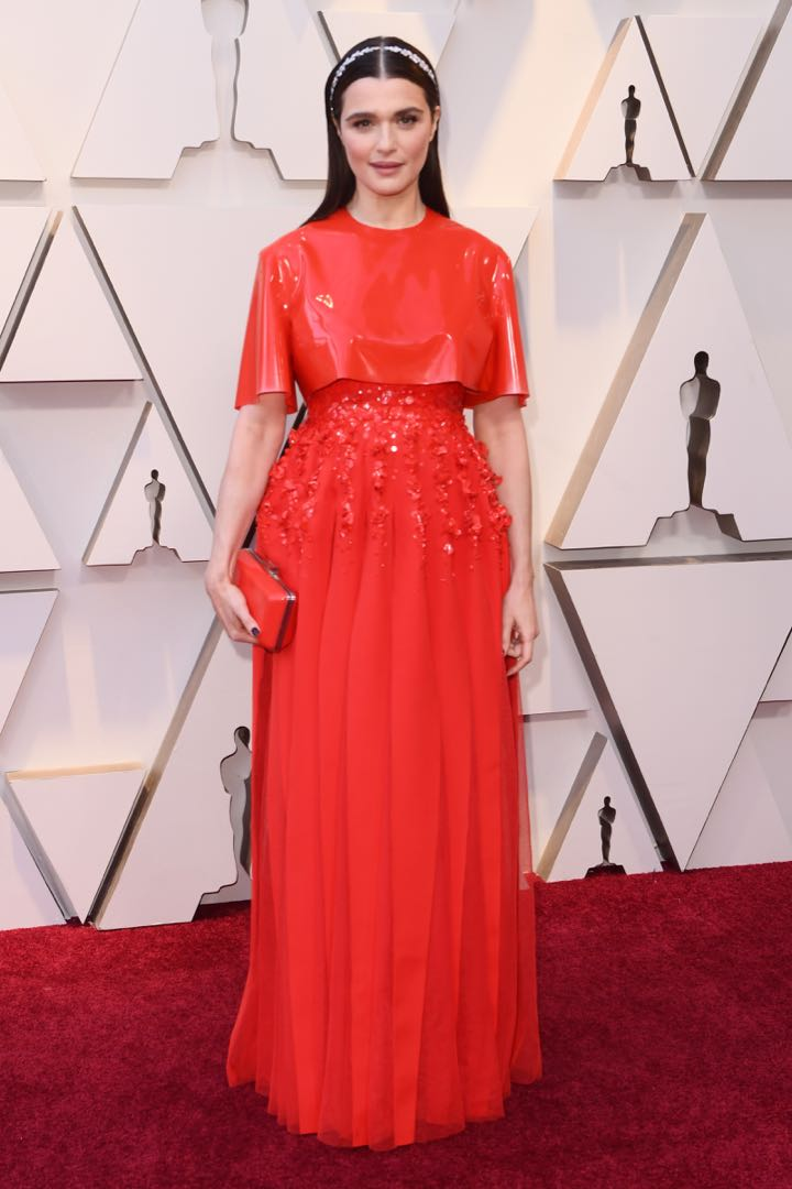 Mandatory Credit: Photo by David Fisher/REX/Shutterstock (10112734gw) Rachel Weisz 91st Annual Academy Awards, Arrivals, Los Angeles, USA - 24 Feb 2019