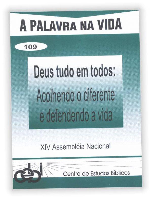 Este caderno visa contribuir para que a profecia vivida na Assembleia se torne realidade. Relata o que foi vivido nela e o partilha com quem não pôde participar.
