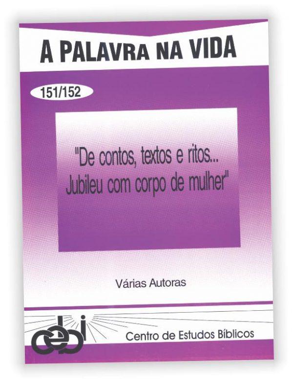 Na perspectiva das mulheres se apresenta uma releitura do jubileu bíblico. Este livro contém contos bíblicos recriados com imaginação liberdade e fidelidade