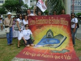 CEBI-RJ esteve presente na Caminhada pela Liberdade Religiosa