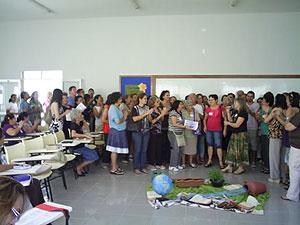 Abertura de Escola Bíblica no CEBI-CE