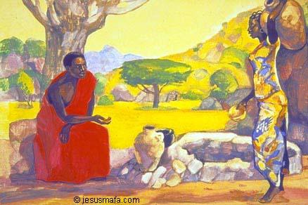 A Samaritana anônima e o judeu Jesus