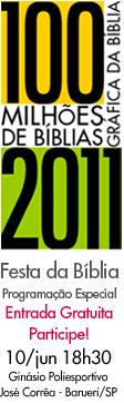 Líderes cristãos confirmam presença na grande Festa da Bíblia