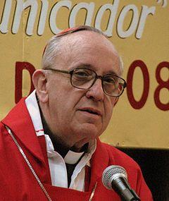 Cardeal Bergoglio (Argentina) é o novo papa