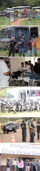 Indígenas são massacrados pela polícia em Mato Grosso do Sul