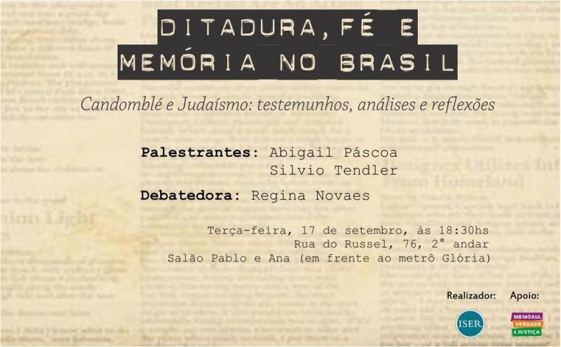 Ditadura, Fé e Memória no Brasil