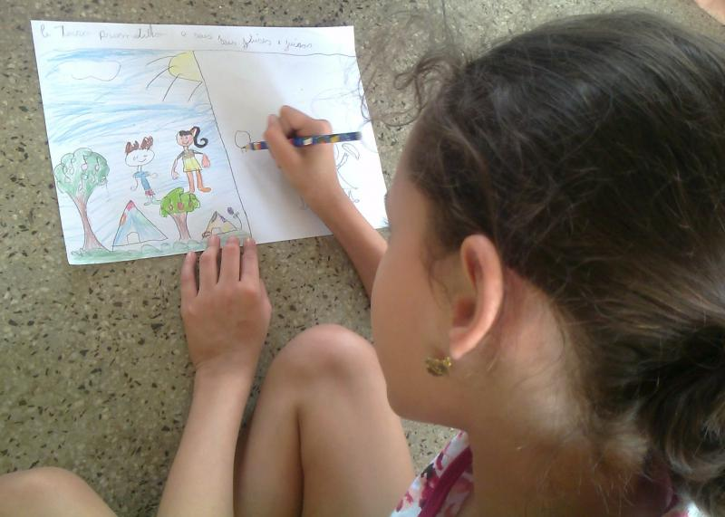"""CEBI-GO: """"Ficar no círculo e ganhar a paz""""  - Escola Bíblica para Crianças"""