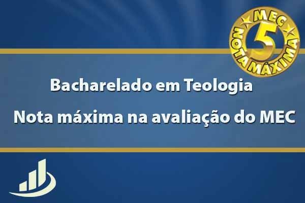 Bacharelado de Teologia da EST recebe nota máxima