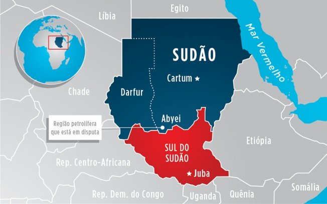 Sudão do Sul: Mais de mil mortos e 180.000 refugiados