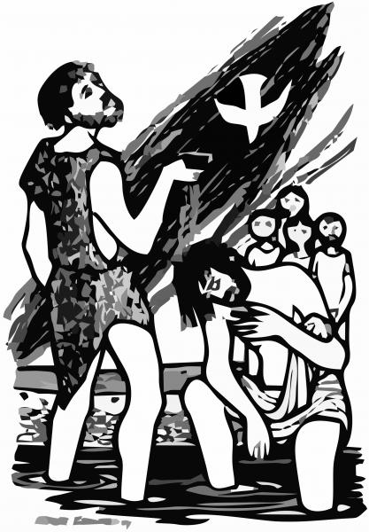 O testemunho do Batista  (Jo 1,29-34)
