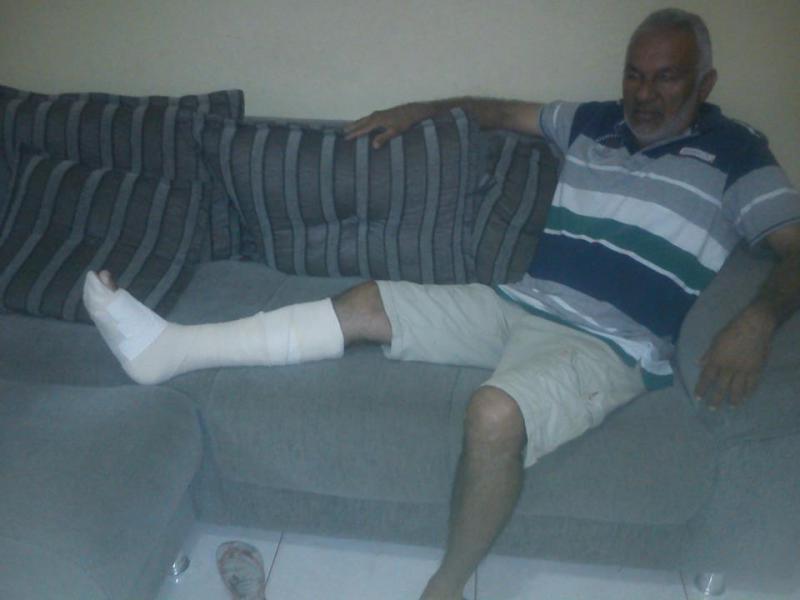Integrante do CEBI e sindicalista é  ferido durante protesto no RN