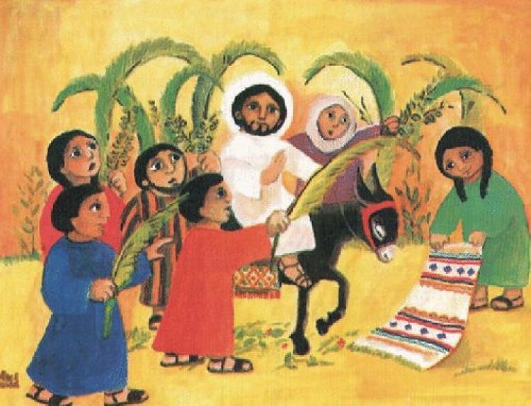 A Entrada em Jerusalém O Messias pobre e desarmado (Mateus 21,1-11) [Mester, Lopes e Orofino]