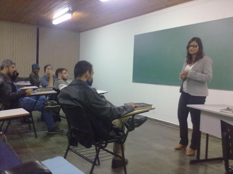 CEBI-MS: Diálogo do Seminário Batista com Pastora Odja Barros