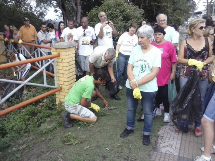 CEBI-Volta Redonda/RJ: Caminhada ecológica contra a 2ª transposição do Rio Paraíba Sul marca o fim da semana do Meio Ambiente