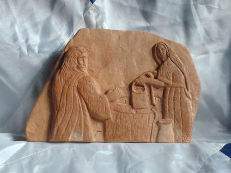 Jo 4, 1-42: A Samaritana e Jesus à Beira do Poço de Jacó – Múria Carrijo