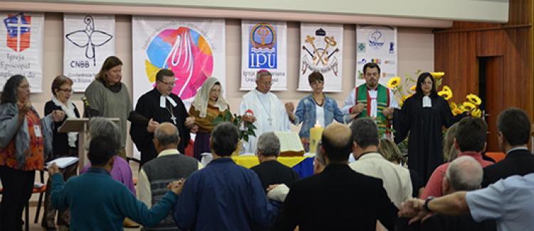 Celebração da diversidade abre Simpósio Ecumenismo e Missão