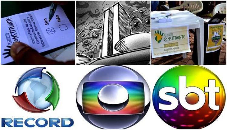 O silêncio da mídia sobre o Plebiscito da Reforma Política - Wadith Damous